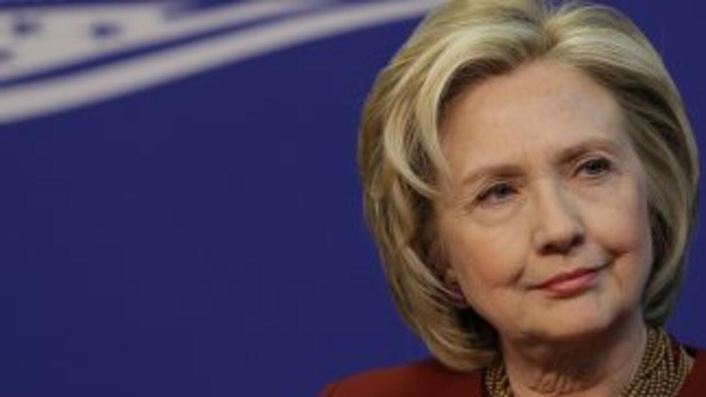 Posible candidatura de Hillary Clinton