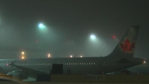 Alerta por densa neblina que podría afectar el funcionamiento del aeropu...