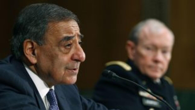 León Panetta, secretario de Defensa dijo que la intervención unilateral...