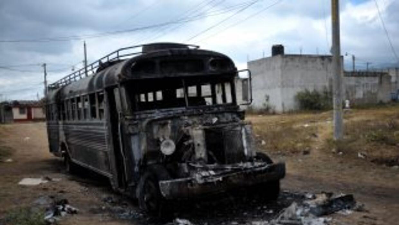Las autoridades acusan a pandilleros de incendiar autobuses en Guatemala.