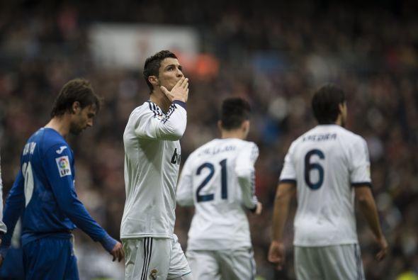 Triplete para 'CR7' y triunfo de 4-0 para Real Madrid en contra del Getafe.