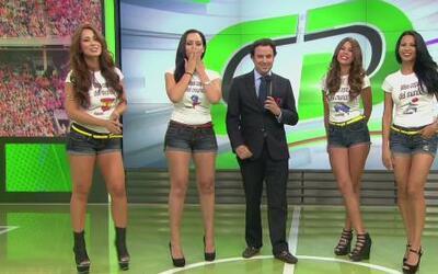 Ellas representan al Grupo B en Miss Copa del Mundo