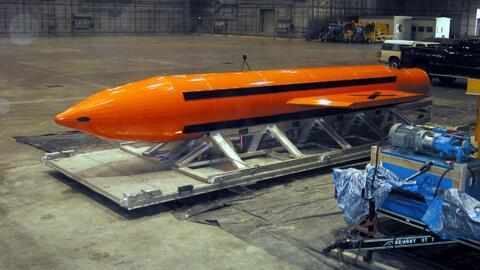 Por estas características es que llaman 'la madre de todas las bombas' a...