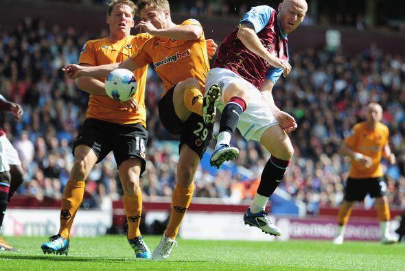 Aston Villa y Wolverhampton aburrieron y no se hicieron daño.