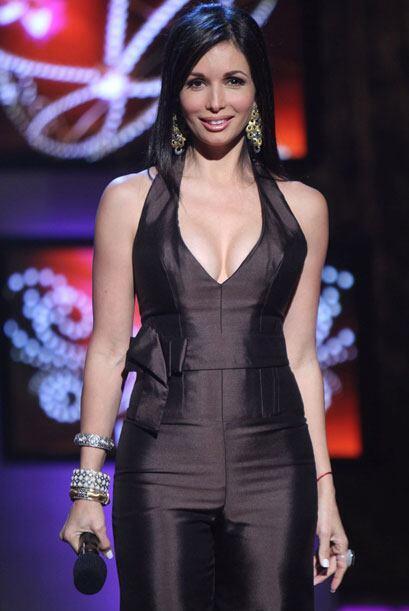 La elegancia es una de sus características, en otro de los 'shows...
