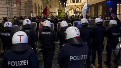 Agentes en Austria. (Imagen de Archivo).