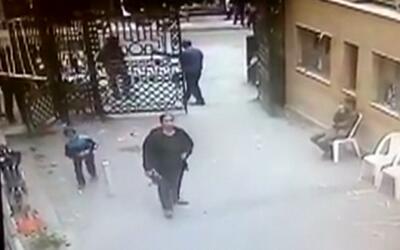 En video: El momento de la explosión en la Catedral de Alejandría, en Eg...