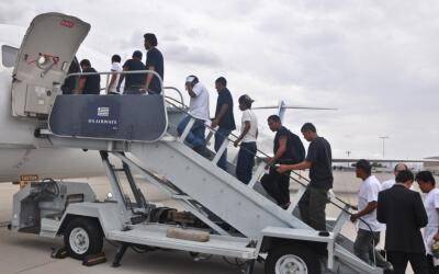 Deportación mexicanos desde Estados Unidos