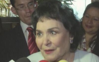 Carmen Salinas no evitó la risa al hablar de Cristian Castro