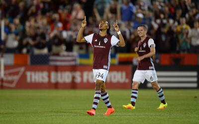 Colorado Rapids empata 1-1 ante FC Dallas