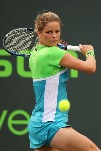 #2 La belga Kim Clijsters con 8.145 puntos.