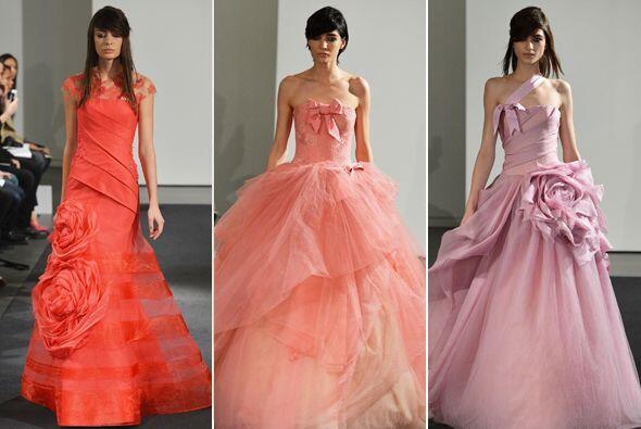La diseñadora consentida de las novias innovadoras, Vera Wang, lanzó su...