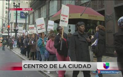 Trabajadores de limpieza piden mejores condiciones laborales