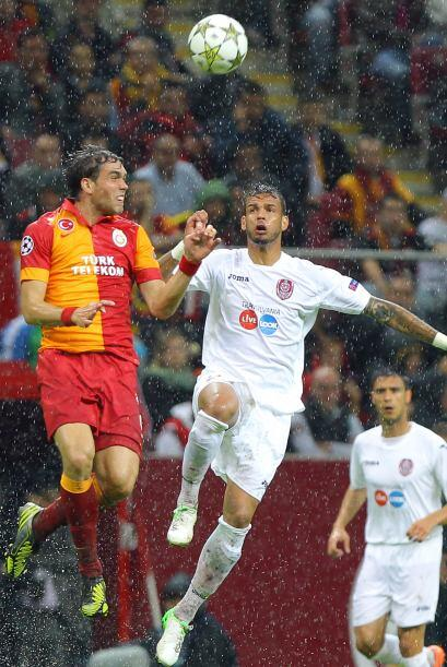 Galatasaray rescató un punto en su propia casa con el empate 1-1 ante el...