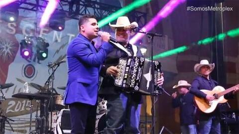 Larry Hernández en Dallas