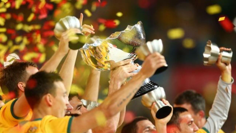 Australia ganó la Copa Asia al imponerse a COrea del Sur en la final.
