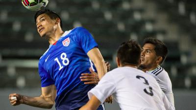 Benji Joya con la selección Sub-23 de Estados Unidos