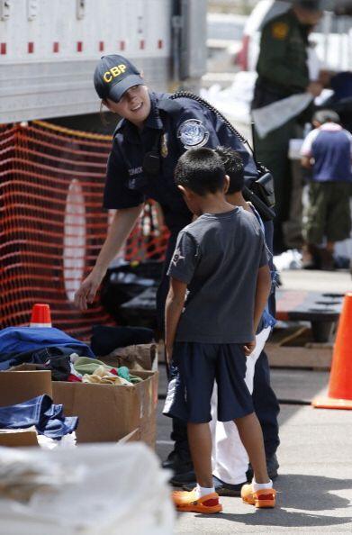 Sin embargo, muchos de esos niños se encuentran en territorio estadounid...
