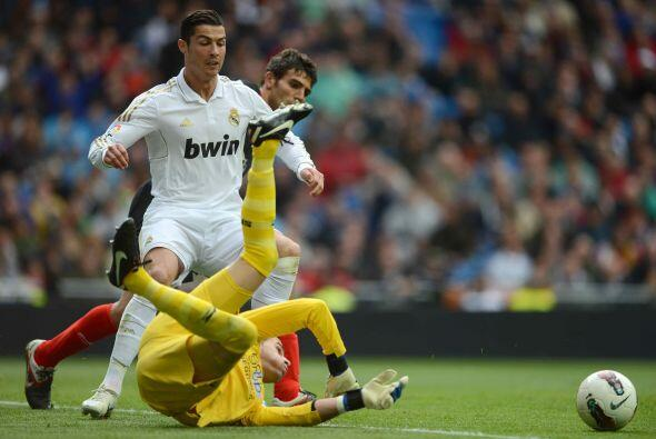 El portugués Cristiano Ronaldo, actual 'Pichichi' de la Liga puso...