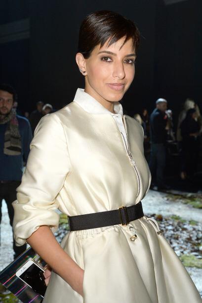 La monarquía no podía faltar al gran evento de la moda; la princesa de A...