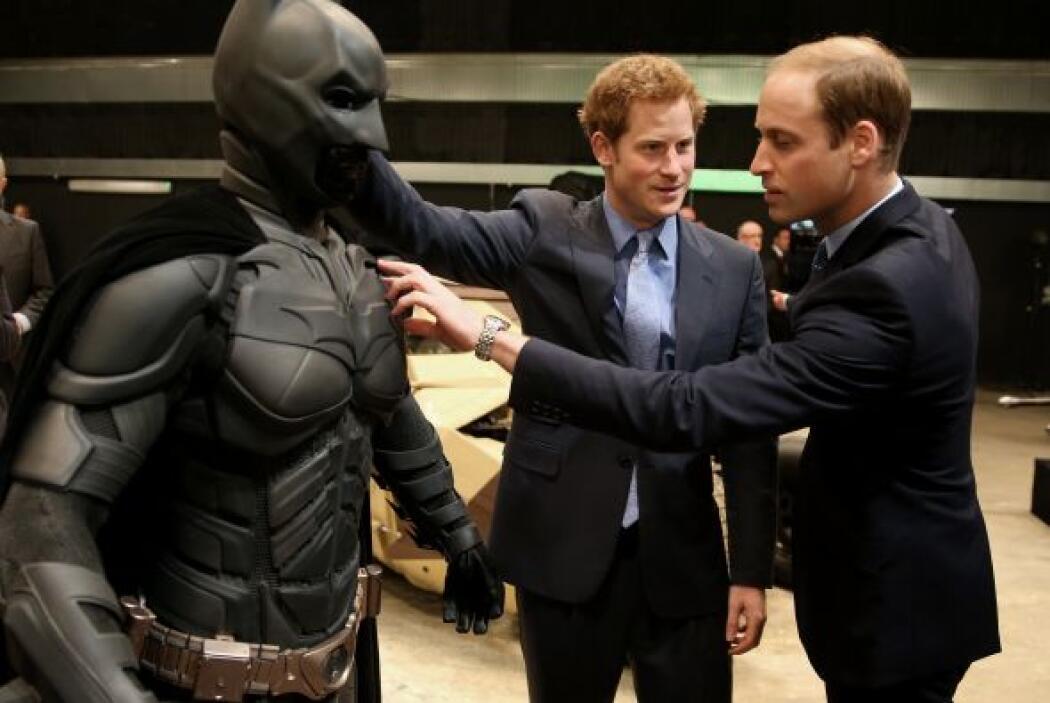 Y conociendo a Harry, ya estaba jugándole una broma a su hermano William.
