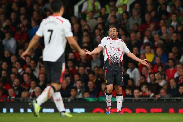 La deseperación fue apoderándose del Liverpool que se veía fuera de la c...