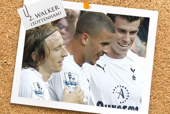 La zaga comienza con un hombreel Tottenham, Kyle Walker.