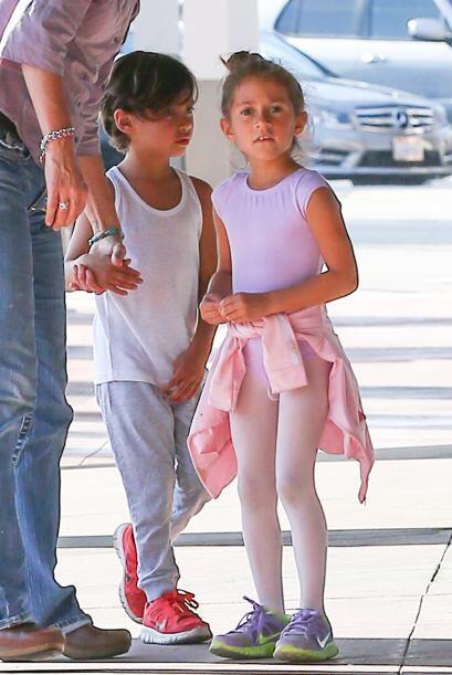 Emme y Max son fruto del amor entre Jennifer Lopez y Marc Anthony.  Mira...