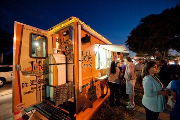 A partir de entonces han surgidos varias decenas de gourmet food trucks...
