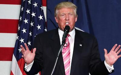 Donald Trump reiteró su política migratoria y la construcción del muro f...