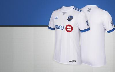 Montreal Impact camiseta alternativa 2017