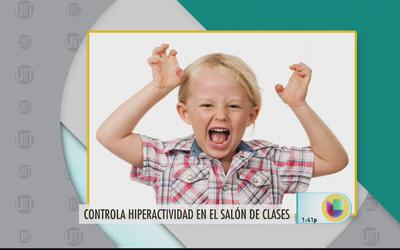 ¿Cómo trabajar con la hiperactividad de los niños?