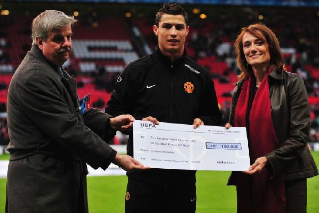 El portugués Cristiano Ronaldo, catalogado como uno de los mejores jugad...