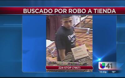 Buscan a ladrón de tienda