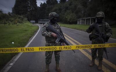 Ejército mexicano en Morelos. (Imagen de Archivo).