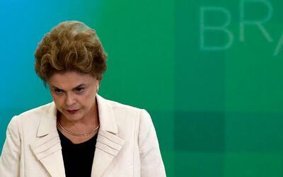 Dilma Rousseff podría queda fuera de la presidencia de Brasil