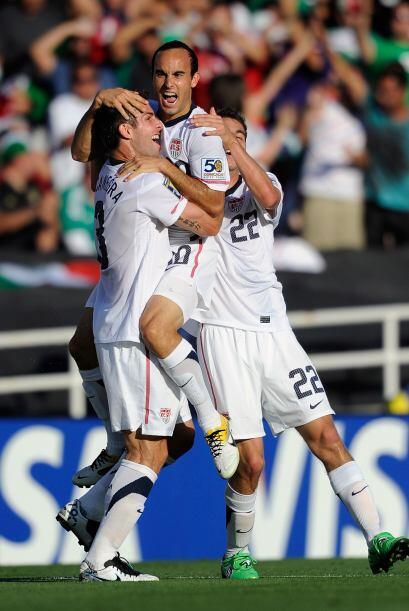 Con ese segundo gol, parecía que Estados Unidos íba a repetir la histori...