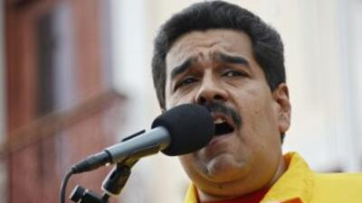 """Maduro sostuvo que la """"revuelta de los ricos"""" en Venezuela fracasará."""