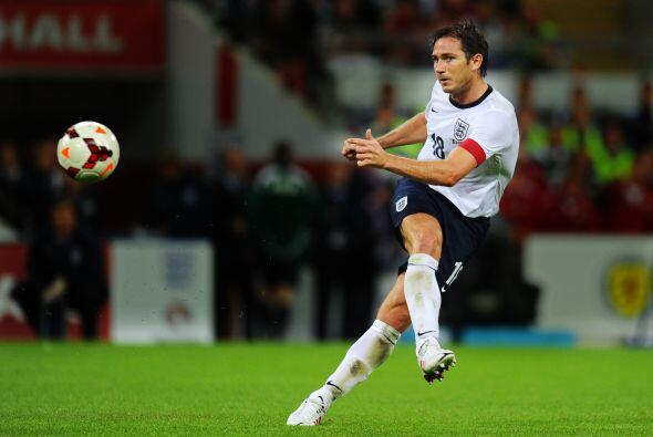 1.- Frank Lampard. El Futbolista inglés del New York City cobra l...