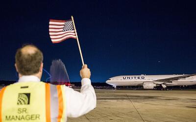 La aerolínea United volvió a sufrir una interrupción en el flujo de sus...