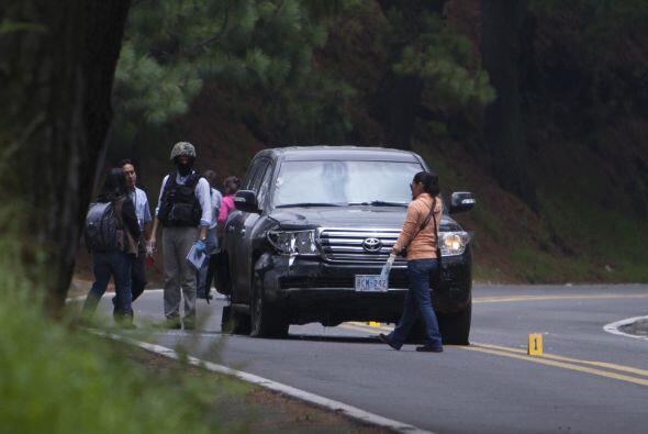 24 de agosto. Dos funcionarios de la embajada de EU resultaron heridos c...