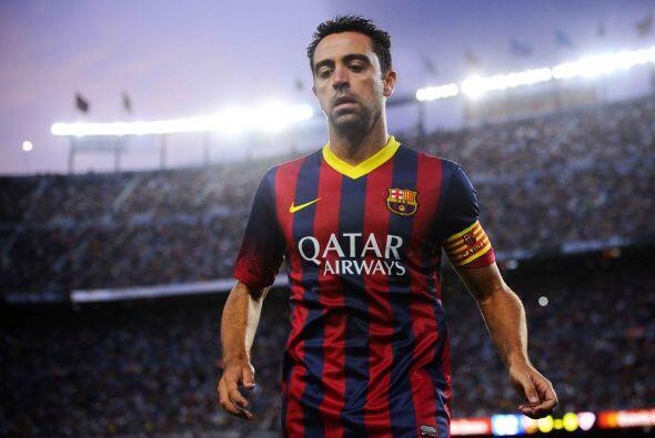 En el campo, sin embargo, ha de empezar a dejar paso. Sin Xavi el Barça...