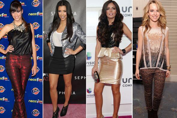 Desde sensuales vestidos hasta los 'legging' más ajustados, estas...