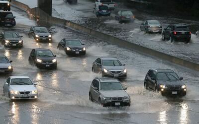 Alerta en California por posibles inundaciones en los próximos meses