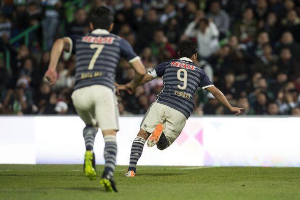 El capítán del Guadalajara abrió el marcador con un...