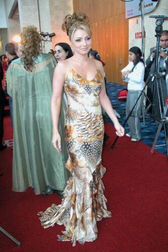 Este vestido que lució en el 2004 era un reflejo perfecto de lo que se l...