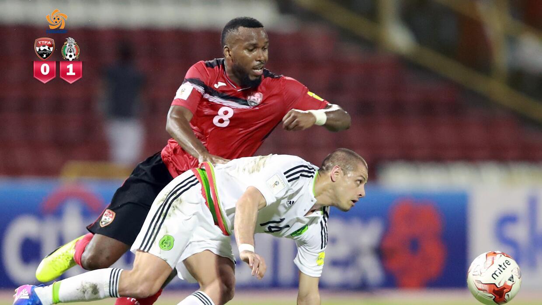 México está venciendo 1-0 a Trinidad y Tobago