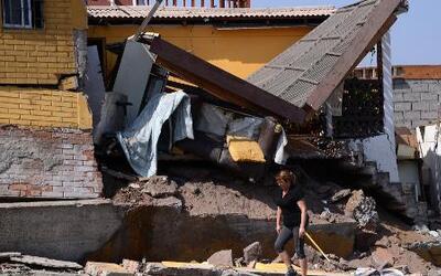 Imágenes del momento del terremoto en Chile