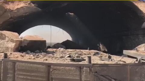 En video: Primeras imágenes de la base aérea bombardeada por EEUU en Siria