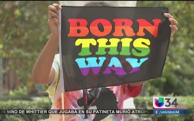 Jóvenes participan en la conferencia para la comunidad LGBT